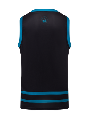 San Jose Sharks Alternate Hockey Tank - Back