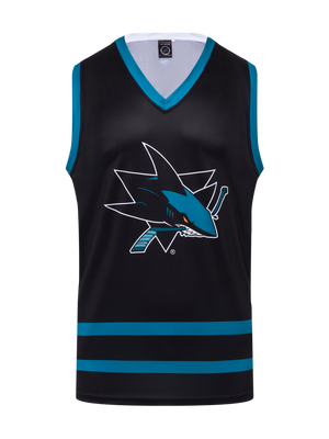 San Jose Sharks Alternate Hockey Tank - Front