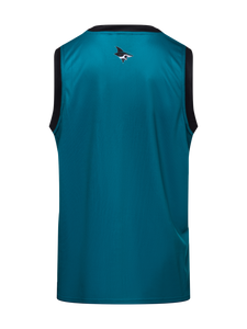 San Jose Sharks Hockey Tank - Back