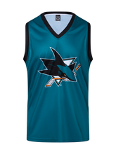 San Jose Sharks Hockey Tank - Front