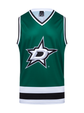 Dallas Stars Hockey Tank - Front