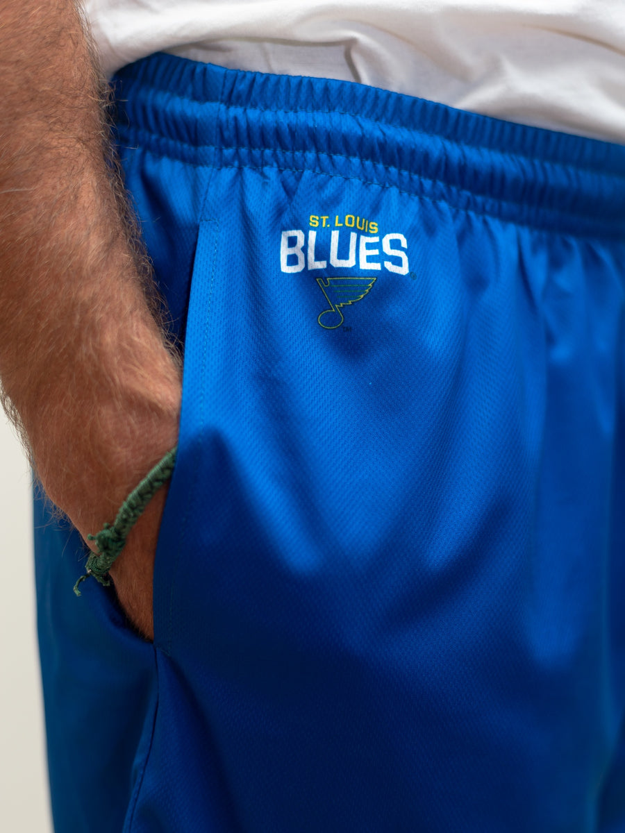 St. Louis Blues Mesh Hockey Shorts - Alt Logo