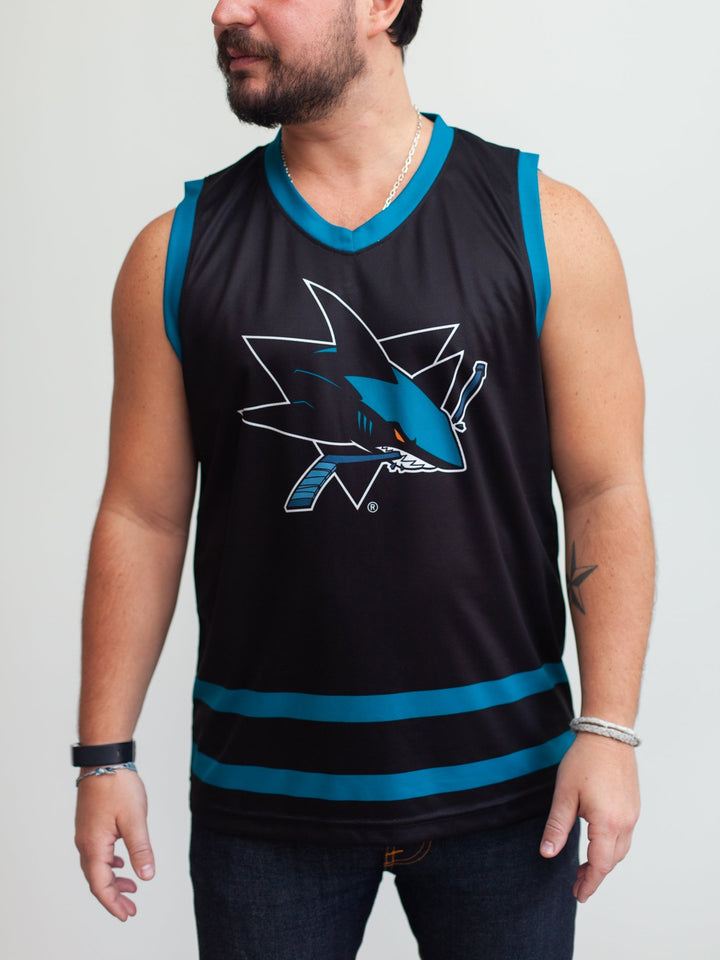 San Jose Sharks Alternate Hockey Tank - Front - Life1
