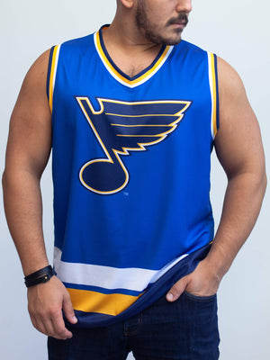 St Louis Blues Home Hockey Tank - Front - Life1