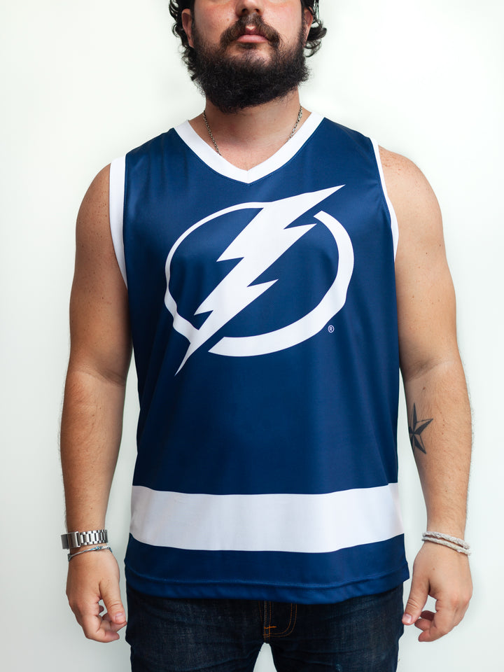 TAMPA BAY LIGHTNING HOCKEY TANK - Front - Life1