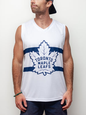TORONTO MAPLE LEAFS SS HOCKEY TANK - Front - Life1
