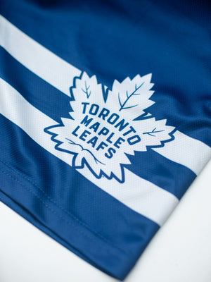 Toronto Maple Leafs Mesh Hockey Shorts - Logo