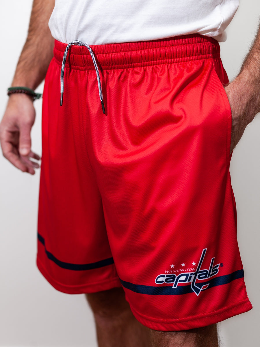 Washington Capitals Mesh Hockey Shorts - Front