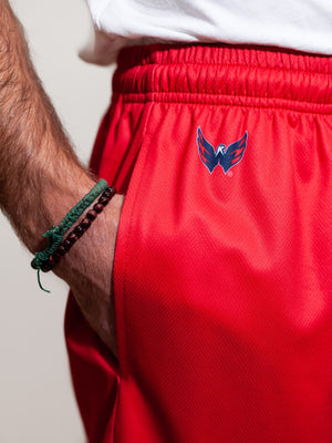 Washington Capitals Mesh Hockey Shorts - Alt Logo