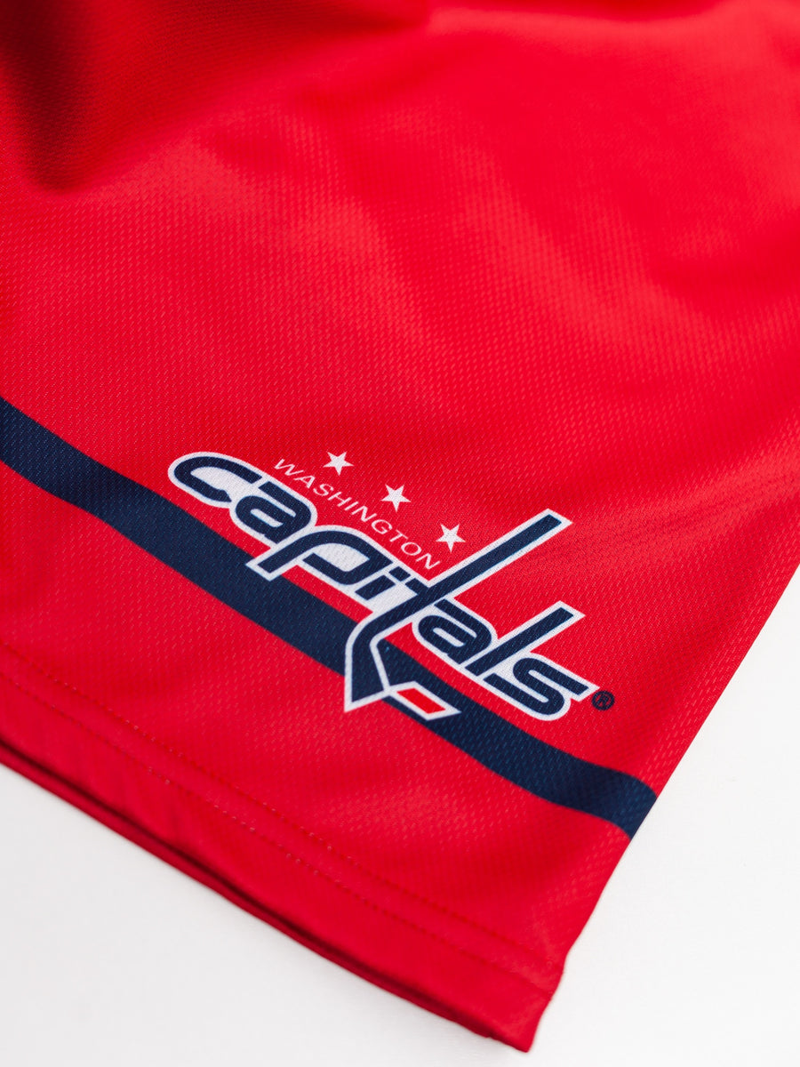 Washington Capitals Mesh Hockey Shorts - Logo
