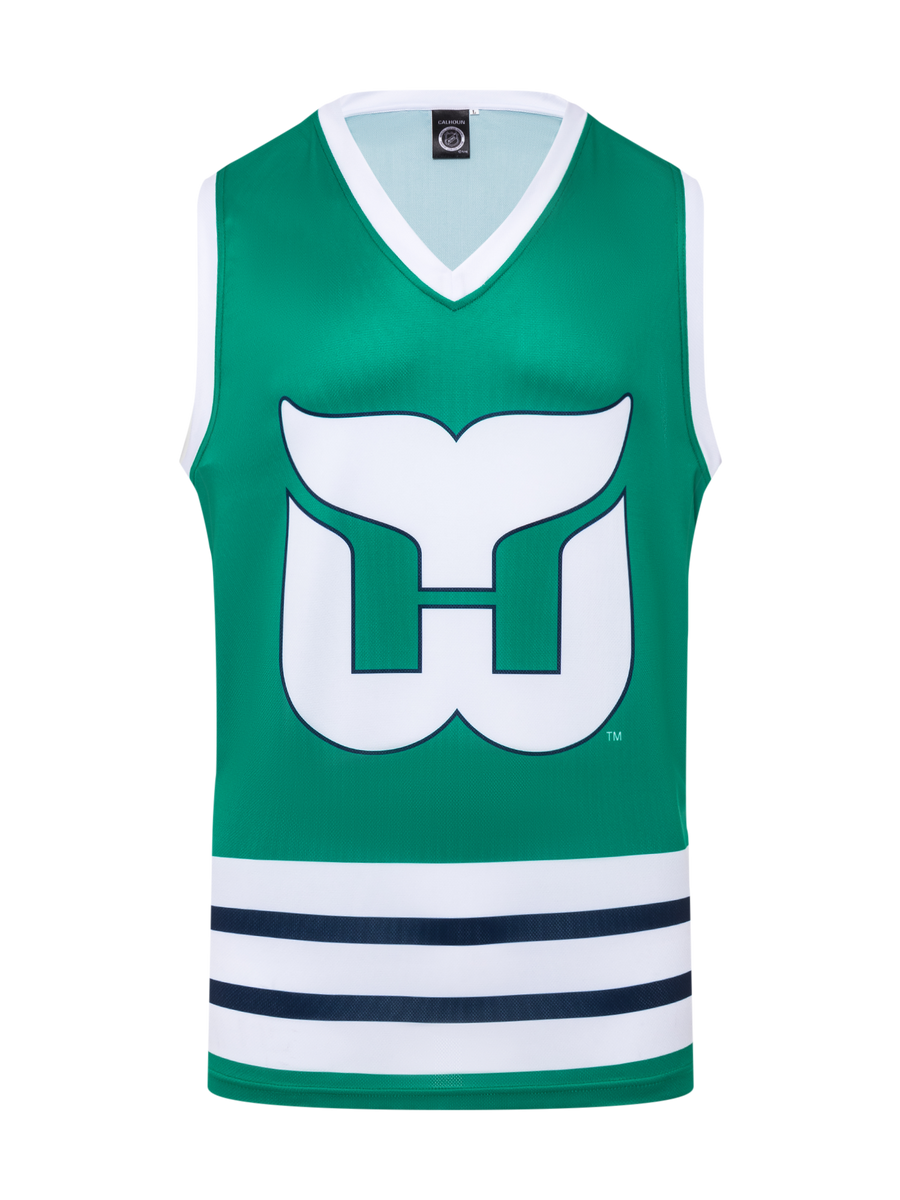 Hartford Whalers Hockey Tank - Front