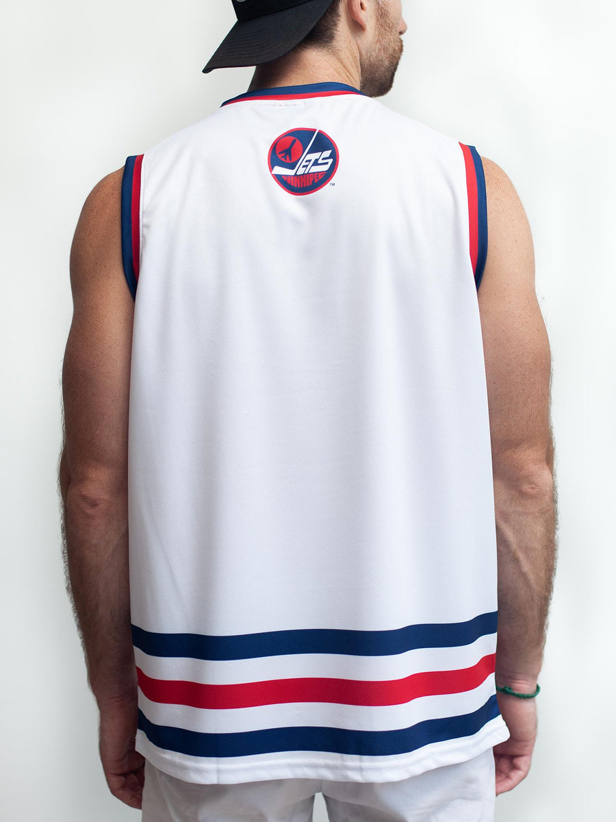 WINNIPEG JETS RETRO ALT HOCKEY TANK - Back - Life1