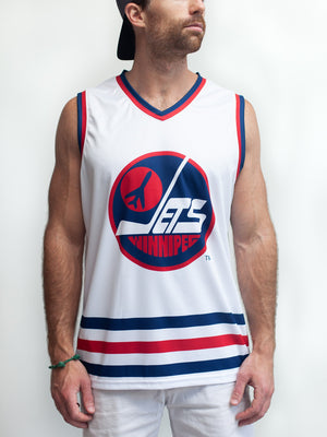 WINNIPEG JETS RETRO ALT HOCKEY TANK - Front - Life1