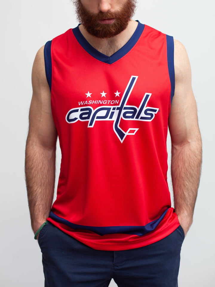 Washington Capitals Home Hockey Tank - Front - Life1