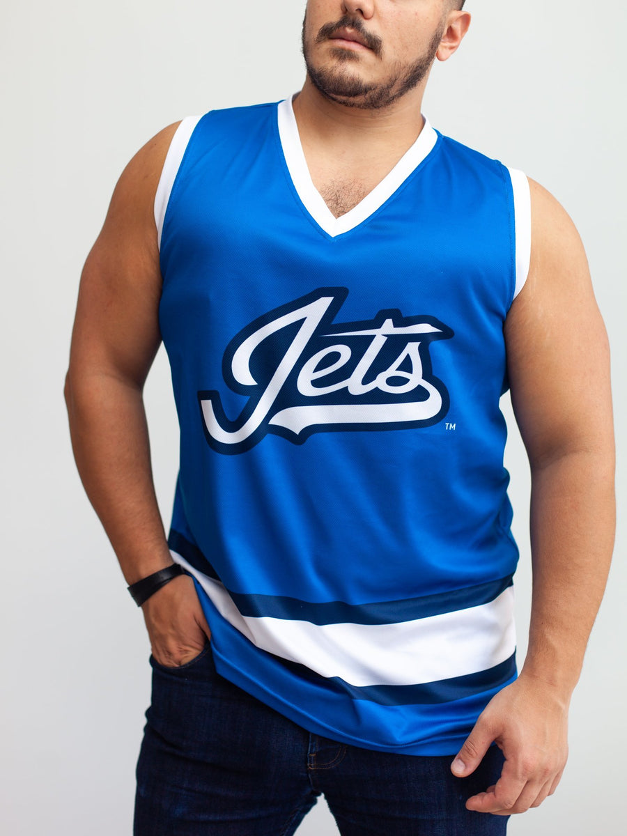 Winnipeg Jets Alternate Hockey Tank - Front - Life1