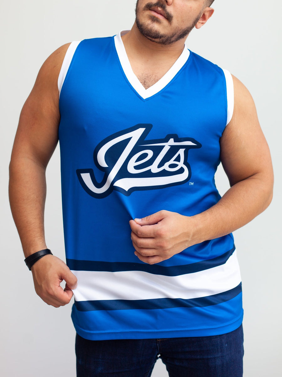 Winnipeg Jets Alternate Hockey Tank - Front - Life2