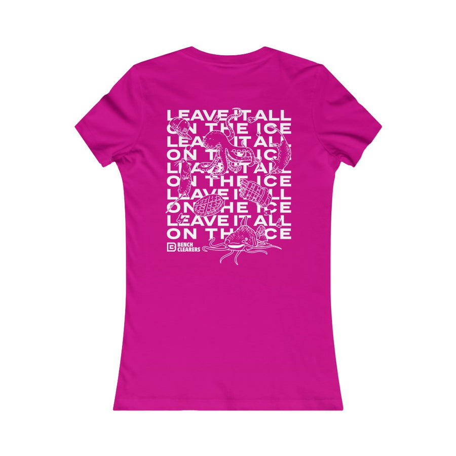 "BC ""LEAVE IT ALL ON THE ICE"" WOMEN'S T-SHIRT"
