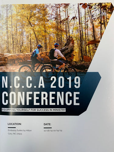 2019 NCCA Conference Notebook