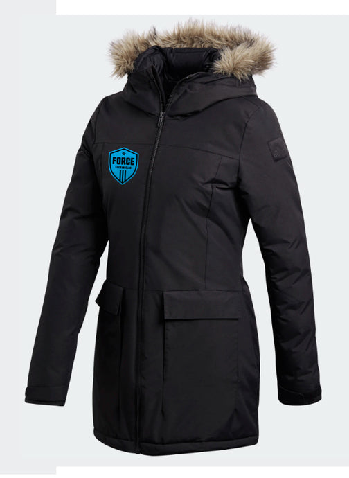 FORCE Women's Black PARKA