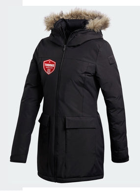 THORNS Women's Black PARKA