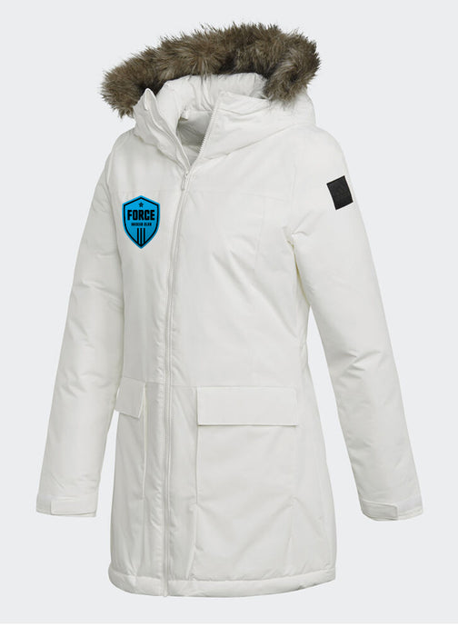 FORCE Women's White PARKA