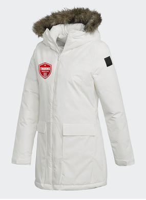 THORNS Women's White PARKA