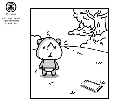 Coloring Page: GuineaGang Comic