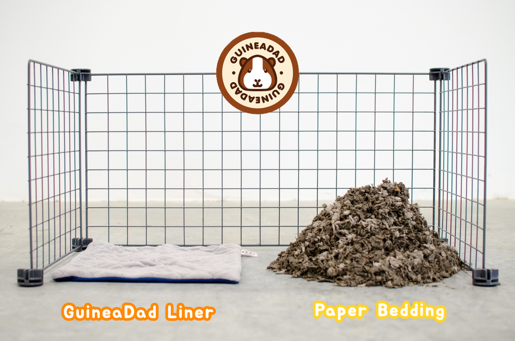 guinea pig fleece bedding