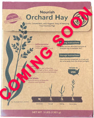 GuineaDad Nourish Series - Orchard hay for guinea pigs