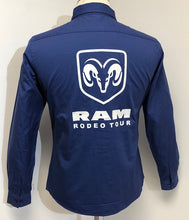 Load image into Gallery viewer, Ladies Official RAM Rodeo Tour Shirt - Front & Back Logos