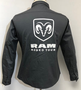 Ladies Official RAM Rodeo Tour Shirt - Front & Back Logos