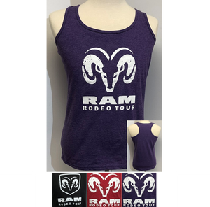 Ladies Official RAM Rodeo Tour Tank Top