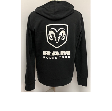 Ladies Official RAM Rodeo Tour Front Zip Hoodie