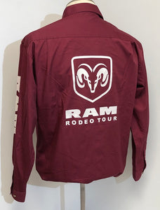 Ladies Official RAM Rodeo Tour Shirt - Back & Sleeve Logos