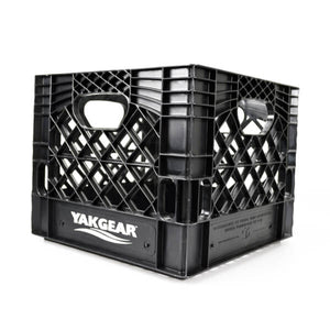 "Black 13"" X 13"" Milk Crate (Square)"