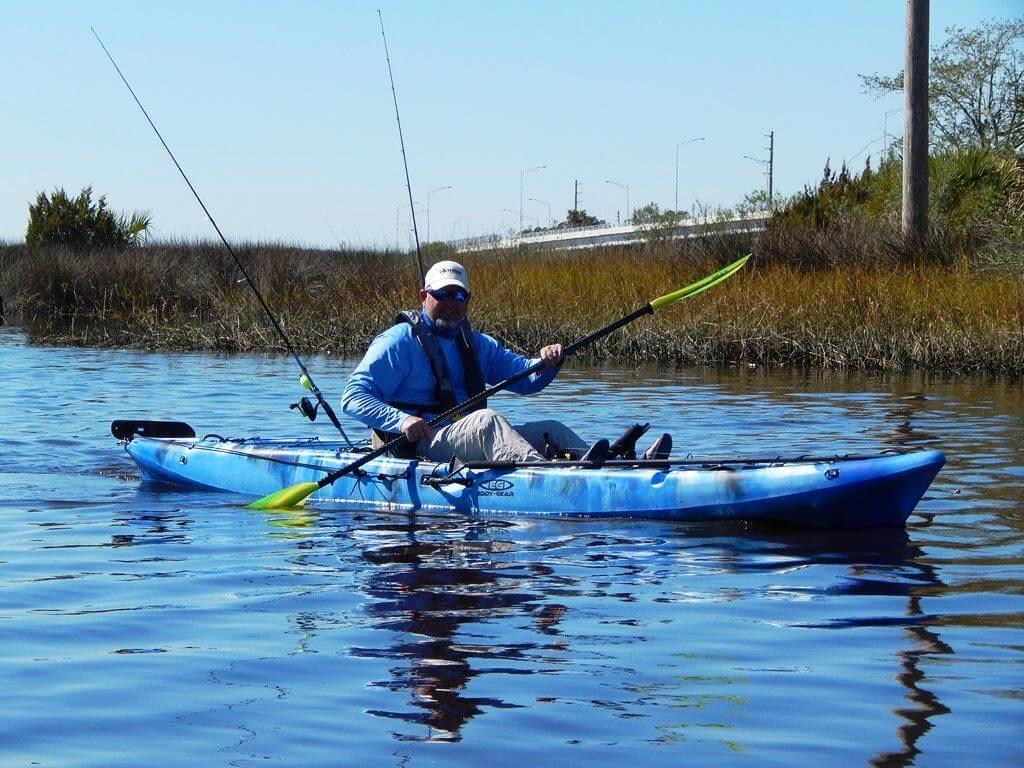 Fishing Kayak| Stingray XL Fisherman Bundle | Kayak for Fishing or Recreation--Eddy-Gear.com