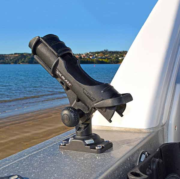 Rod Holder II & Starport HD (Black) | Eddy-Gear.com