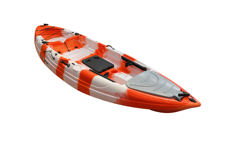 Stingray JR. Limited - Eddy Gear Kayaks | Kayaks for Fishing and Recreation -Dreamsicle-Eddy-Gear.com