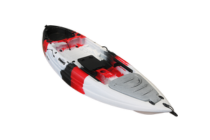 Stingray JR. Limited - Eddy Gear Kayaks | Kayaks for Fishing and Recreation -Red/Black/White-Eddy-Gear.com