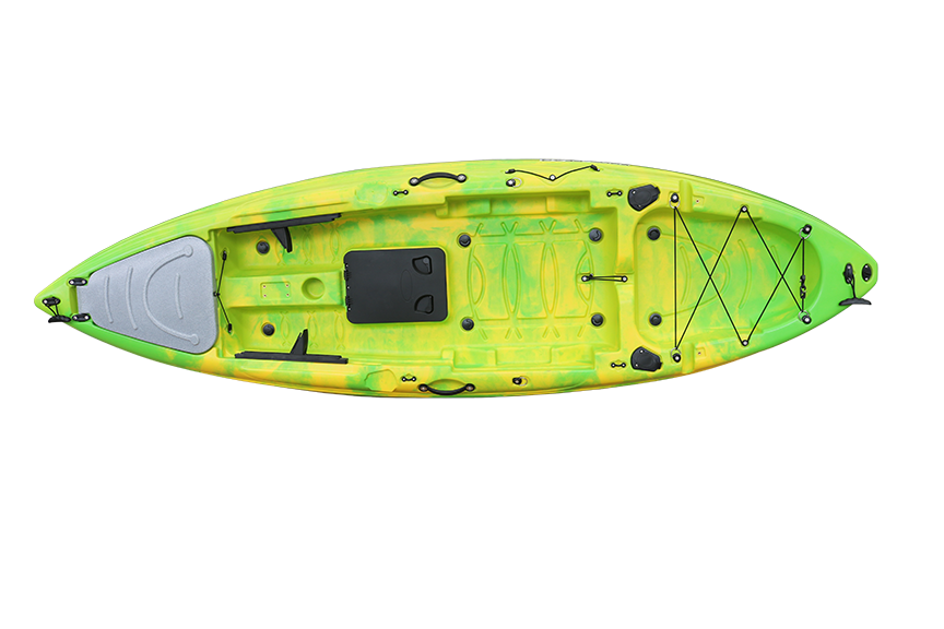 Stingray JR. Limited - Eddy Gear Kayaks | Kayaks for Fishing and Recreation -Safety Green-Eddy-Gear.com