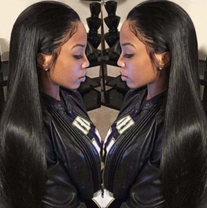 13*4 Lace Front Human Hair Pre Plucked Brazilian Straight Virgin Hair
