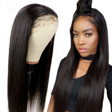 Load image into Gallery viewer, 13x6 Glueless Transparent Lace Front Wig 150% Peruvian Remy Human Hair Wigs