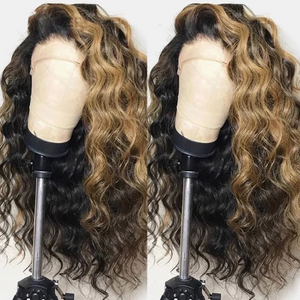 13*4 Brazilian Lace Frontal Hair and Baby Hair Remy Wave Hair