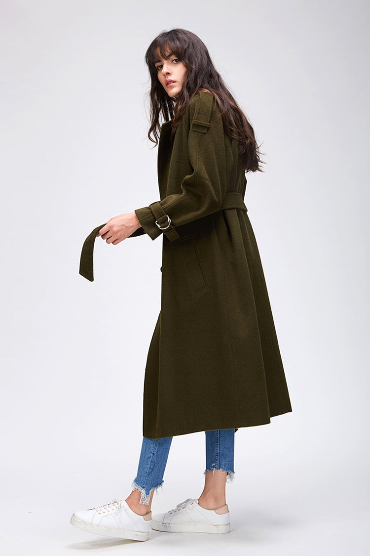 Autumn Coat with Belt
