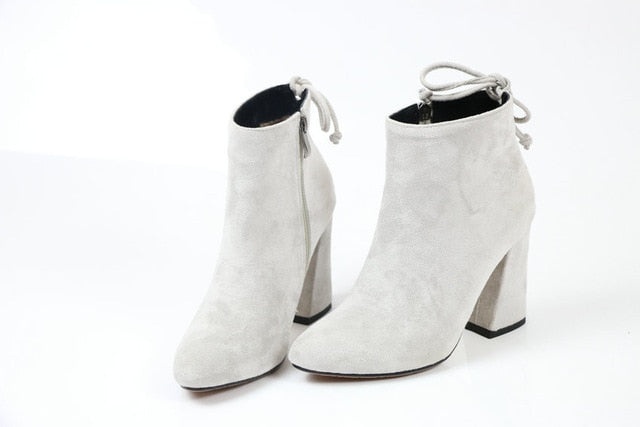 Warm Ankle Boots