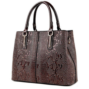 Animal Print Casual Bag