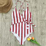 Striped Swimwear