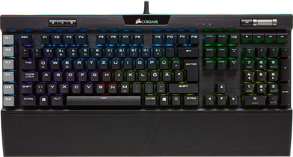 Corsair K95 RGB Platinum Gaming Tastatur MX-Speed DE (CH-9127014-DE)