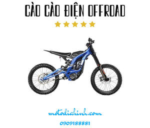 Cào cào offroad điện (Sur-ron X light bee electric offroad dirt bike) - MÔTÔ ĐỊA HÌNH
