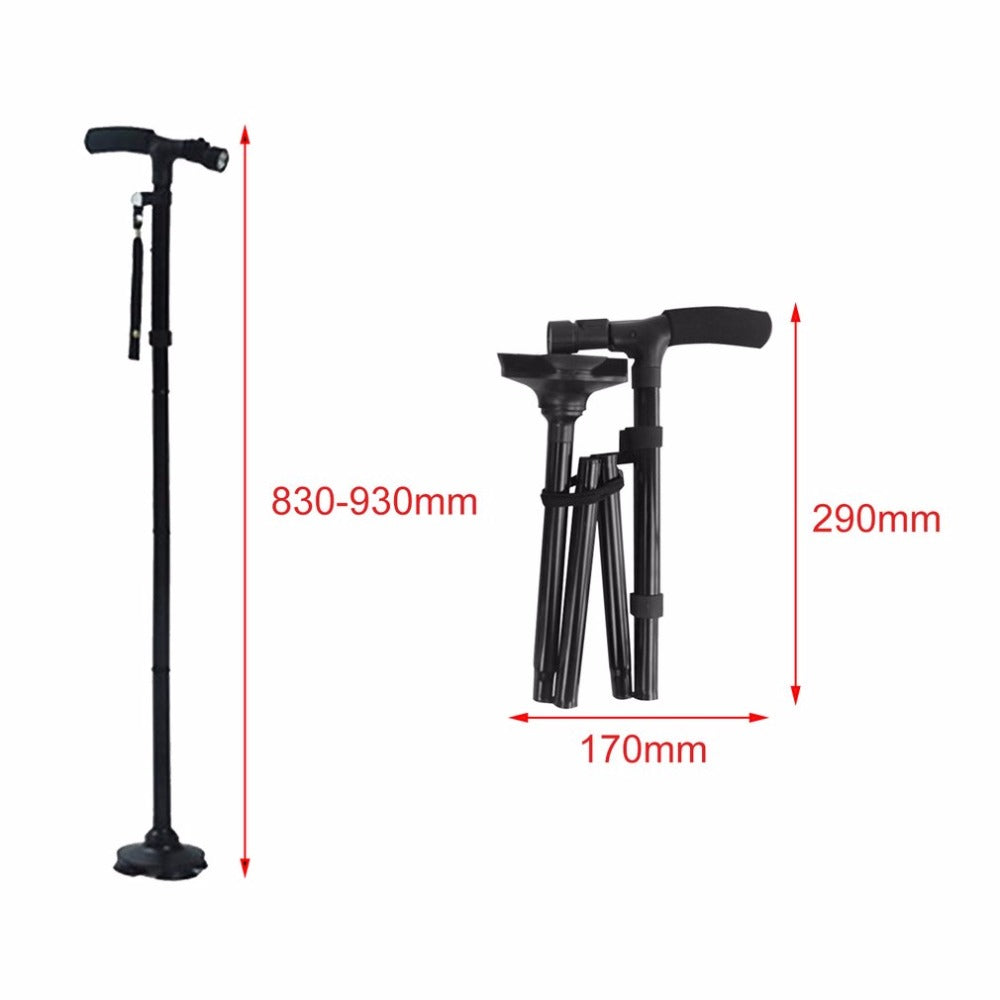 Magic Cane Folding Led Lights Safety Walking Stick